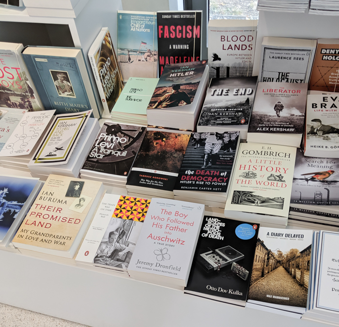 Bookshop | 7 reasons to visit the Munich NS-documentation Center in Munich, Germany | Nazi history, Adolf Hitler headquarters, WWII history #munich #germany #thirdreich #wwiihistory #wwiitravel