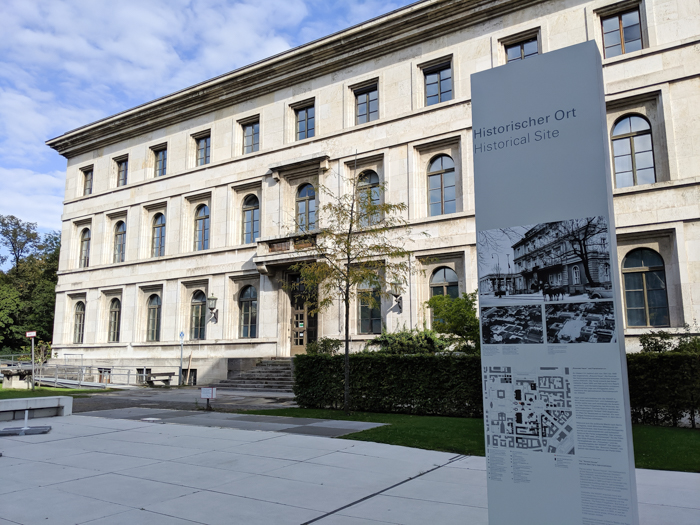 Historical Site | Munich NS-documentation Center in Munich, Germany | Nazi history, Adolf Hitler headquarters