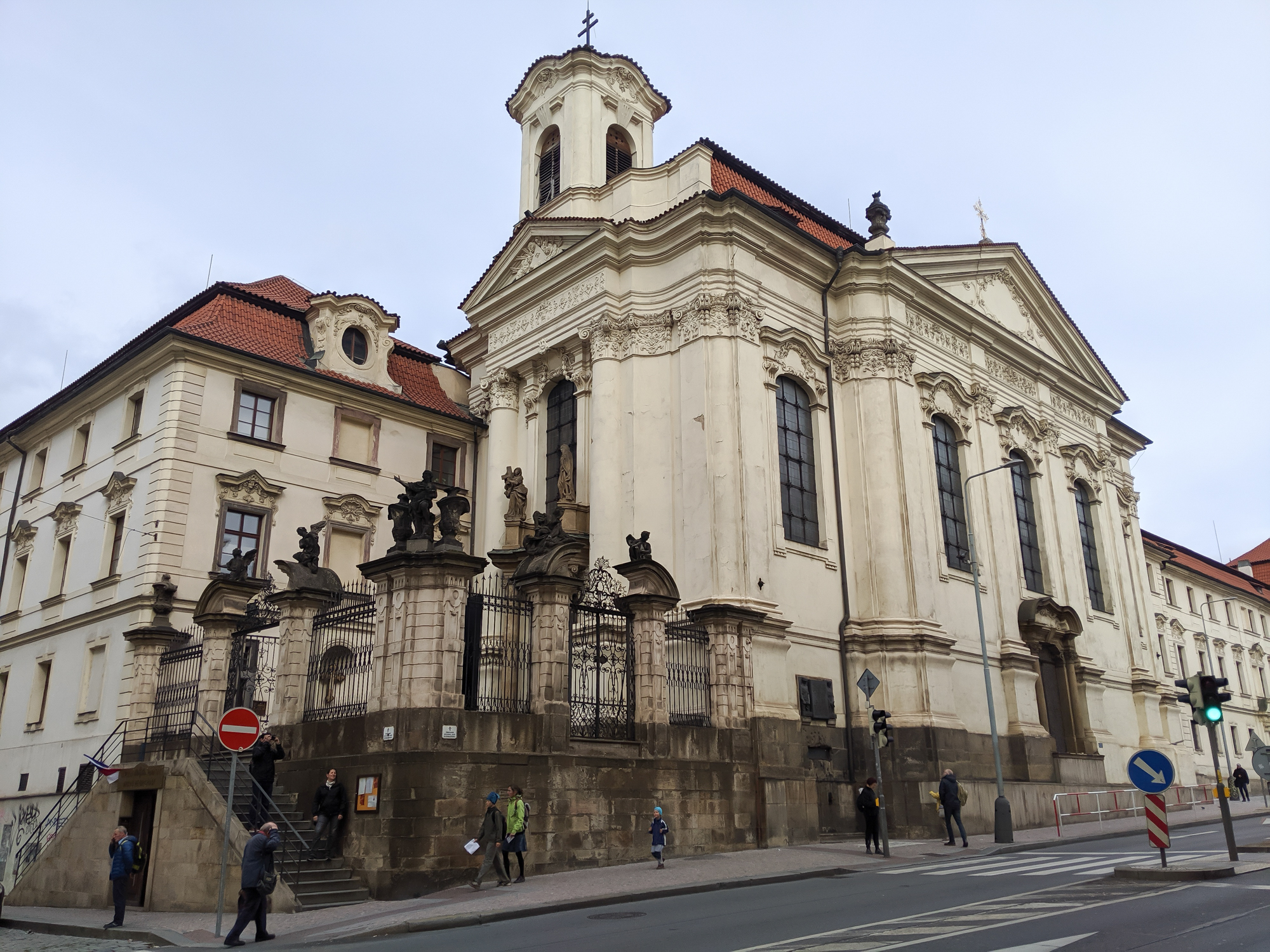 Where is the Operation Anthropoid memorial? Prague, Czech Republic (Czechia) | WWII sites in Prague | Nazi leader Reinhard Heydrich assassination | Saints Cyril and Methodius Cathedral