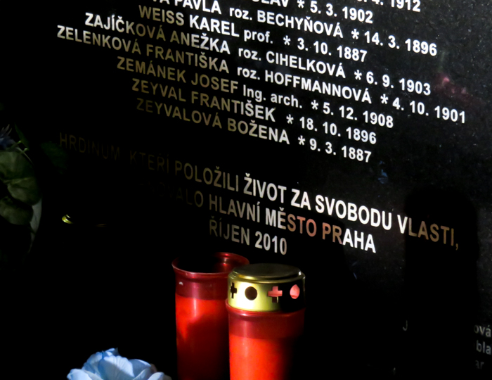 Operation Anthropoid memorial in Prague, Czech Republic (Czechia) | WWII sites in Prague | Nazi leader Reinhard Heydrich assassination | Saints Cyril and Methodius Cathedral | memorial sites