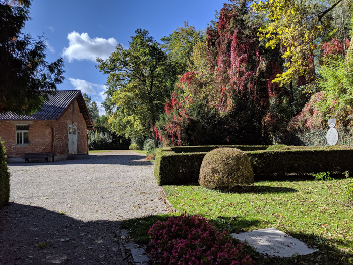 Complete Guide to Visiting Dachau Concentration Camp | Munich, Germany | Religious memorials | area and memorial behind crematorium