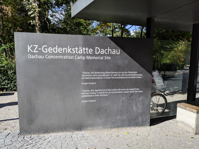 Complete Guide to Visiting Dachau Concentration Camp | Munich, Germany | Main entrance sign