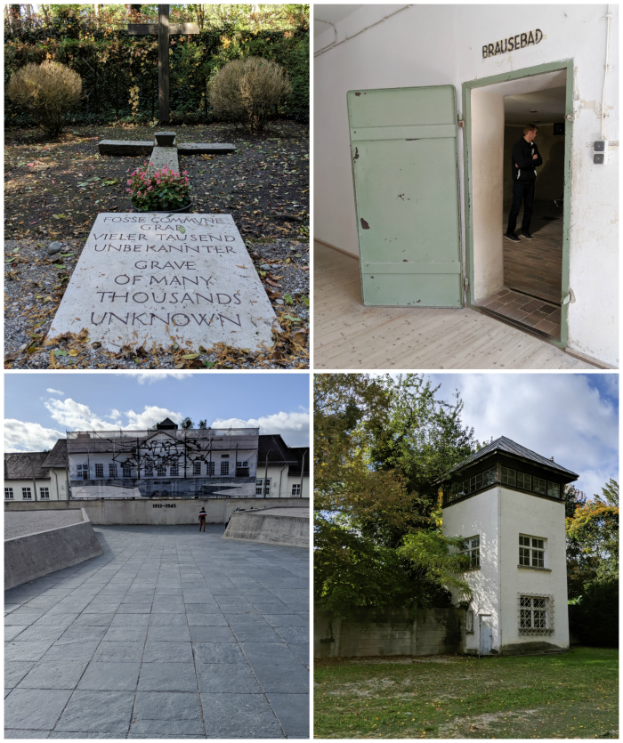 Complete Guide to Visiting Dachau Concentration Camp | Munich, Germany | Religious memorials | mass grave, shower/gas chamber, memorial statue, watch tower