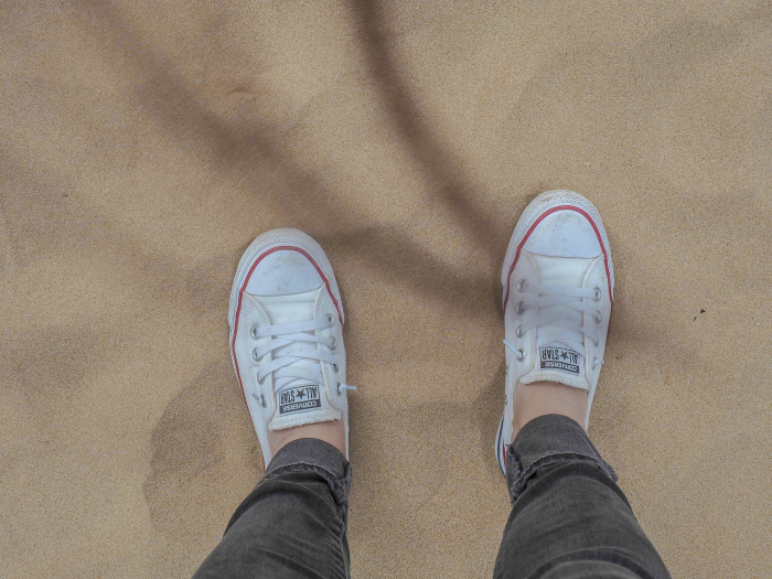 walking on omaha beach in normandy, france | WWII travel