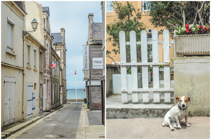 The little town of Arromanches-les-bains | 7 of the Best D-Day Sites to Visit in Normandy If You Have Just 1 Day | Normandy, France WWII sites and World War II history | #wwii #normandy #dday #omahabeach
