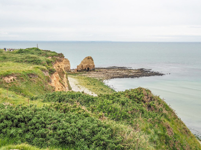 cliffs of Pointe du Hoc | 7 of the Best D-Day Sites to Visit in Normandy If You Have Just 1 Day | Normandy, France WWII sites and World War II history | #wwii #normandy #dday #omahabeach