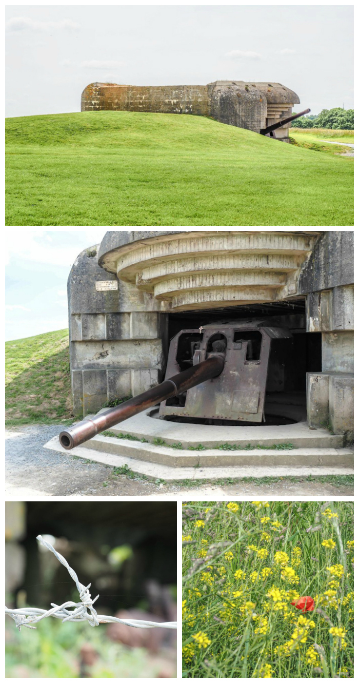 Longues-ser-mer German Battery remains | 7 of the Best D-Day Sites to Visit in Normandy If You Have Just 1 Day | Normandy, France WWII sites and World War II history | #wwii #normandy #dday #omahabeach