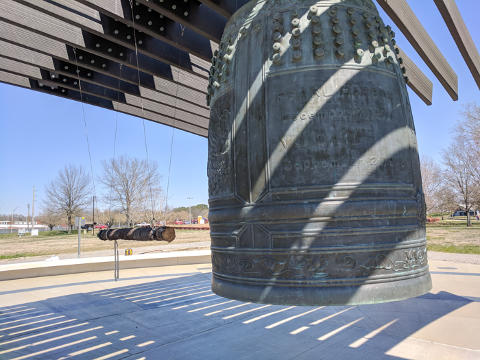 International Friendship Bell, Japan   How to Visit Manhattan Project sites in Oak Ridge, Tennessee   World War II museum, Oak Ridge National Laboratory, Atomic City, Secret City, US Department of Energy, American Museum of Science and Energy #oakridge #tennessee #worldwarii #atomicbomb #manhattanproject