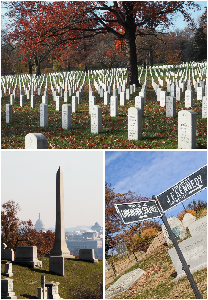 WWII Sites in Washington DC and Arlington, Virginia that you shouldn't miss | Arlington National Cemetery and the Changing of the Guard Ceremony at the Tomb of the Unknown Soldier