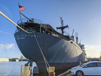 9 Tips for Visiting the SS American Victory Ship and Museum in Tampa, Florida #tampa #florida #worldwarii #battleship