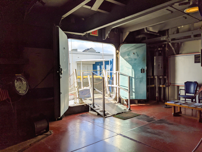 entrance | 9 Tips for Visiting the SS American Victory Ship and Museum in Tampa, Florida #tampa #florida #worldwarii #wwii #anchor #battleship