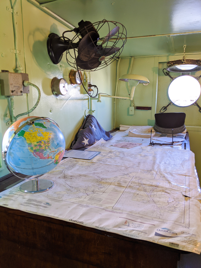 maps and globe | 9 Tips for Visiting the SS American Victory Ship and Museum in Tampa, Florida #tampa #florida #worldwarii #wwii #anchor #battleship