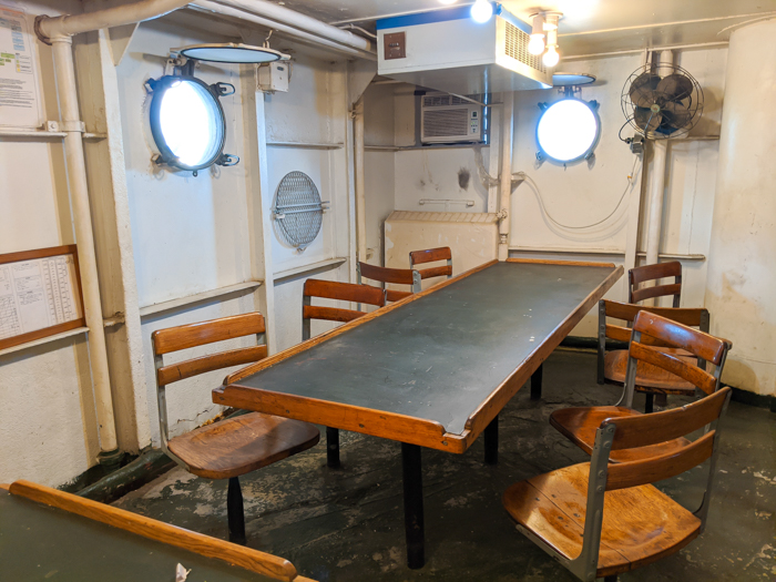 mess | 9 Tips for Visiting the SS American Victory Ship and Museum in Tampa, Florida #tampa #florida #worldwarii #wwii #anchor #battleship
