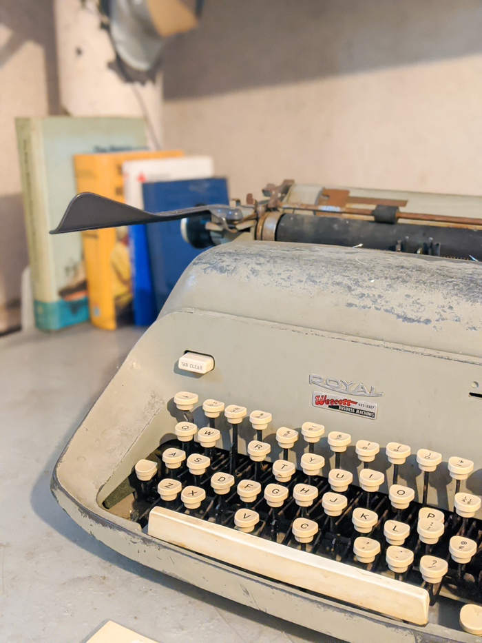 typewriter | 9 Tips for Visiting the SS American Victory Ship and Museum in Tampa, Florida #tampa #florida #worldwarii #wwii #anchor #battleship