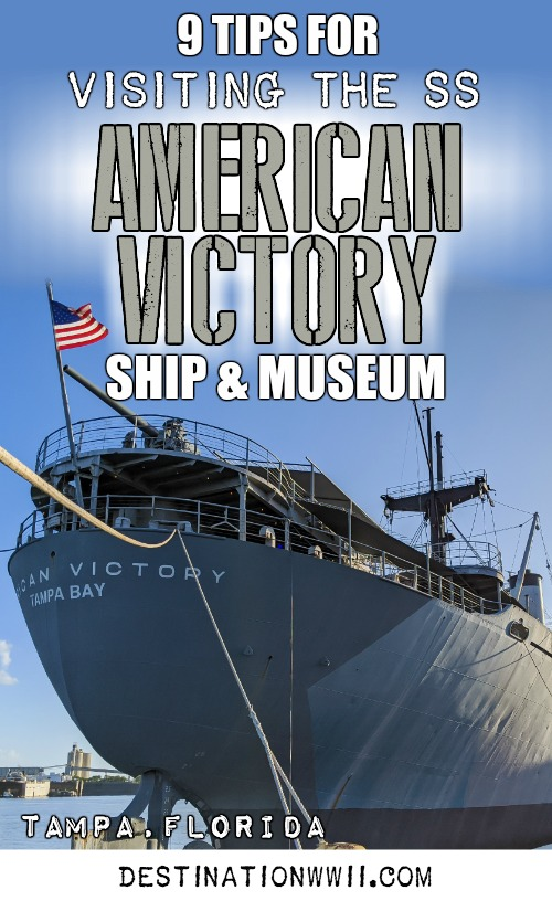 9 Tips for Visiting the SS American Victory Ship and Museum in Tampa, Florida #tampa #florida #worldwarii #wwii #anchor #battleship