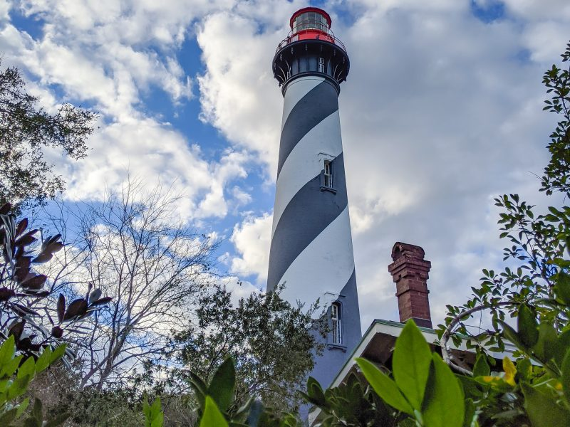 WWII Sites in St. Augustine, Florida - America's Oldest City   Flagler College, Castillo de San Marcos, World War II memorial, St. Augustine Lighthouse and Maritime Museum, Tin Pickle eatery #staugustine #ancientcity #florida #wwiitravel #destinationwwii #worldwarii