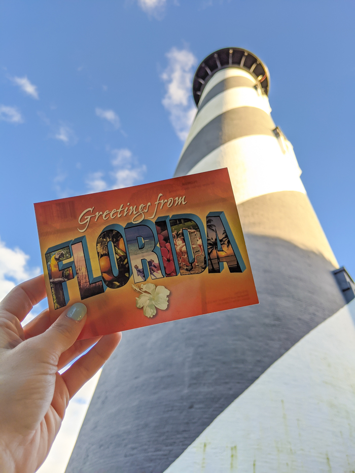 Greetings from the St. Augustine Lighthouse and Maritime Museum, Florida #staugustine #florida #postcard