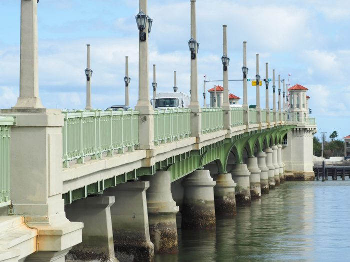 The Bridge of Lions in St. Augustine, Florida #staugustine #florida #bridge