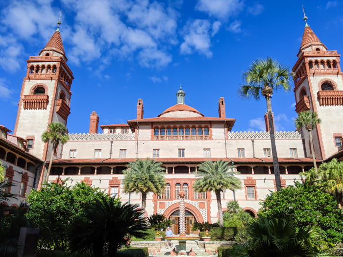 Flagler College | WWII Sites in St. Augustine, Florida - America's Oldest City | #staugustine #ancientcity #florida #wwiitravel #destinationwwii #worldwarii