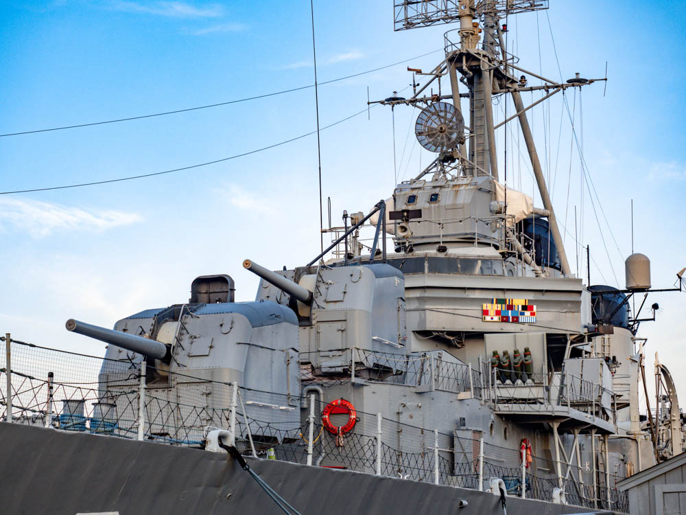 USS Cassin Young destroyer, boston   8 Reasons U.S. Battleship Museums are the Best Museums   USS Massachusetts, Battleship Cove, Fall River, Massachusetts