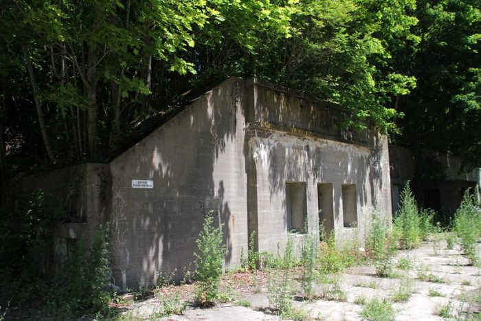 WWII sites in Boston, Massachusetts / Boston Harbor Islands: Fort Andrews on Peddocks Island