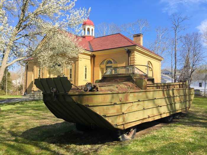 Cape Cod Military Museum at the Bourne Historical Society