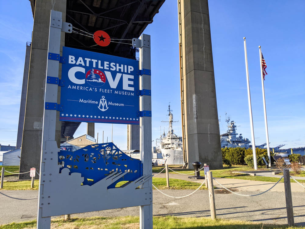 WWII sites in Massachusetts, Battleship Cove in Fall River