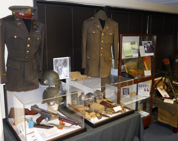 Artifacts at the Fort Devens Museum / WWII sites in Massachusetts