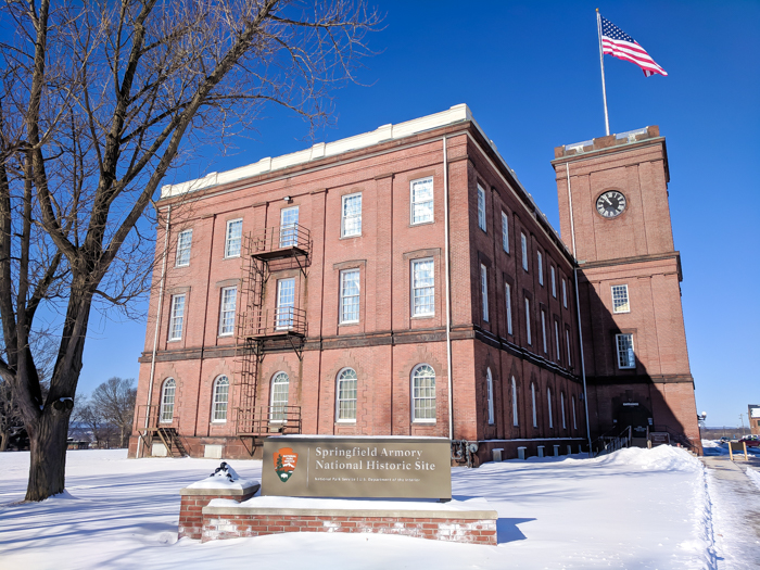 Springfield Armory National Historic Site / WWII sites in Massachusetts
