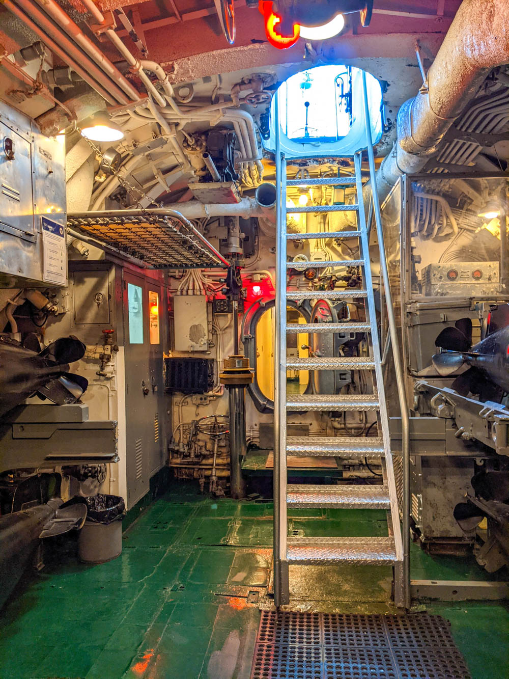 WWII sites in Massachusetts, Battleship Cove in Fall River, USS Lionfish submarine