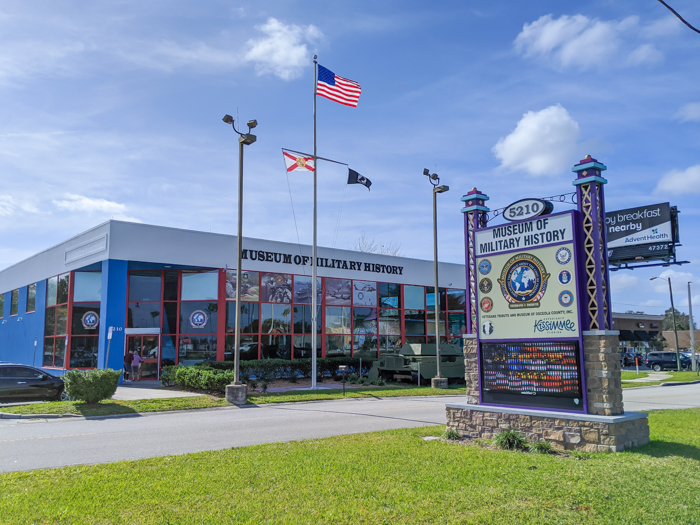 WWII sites in Orlando and thereabouts - World War II sites in and around Central Florida / Museum of Military History in Kissimmee, Florida