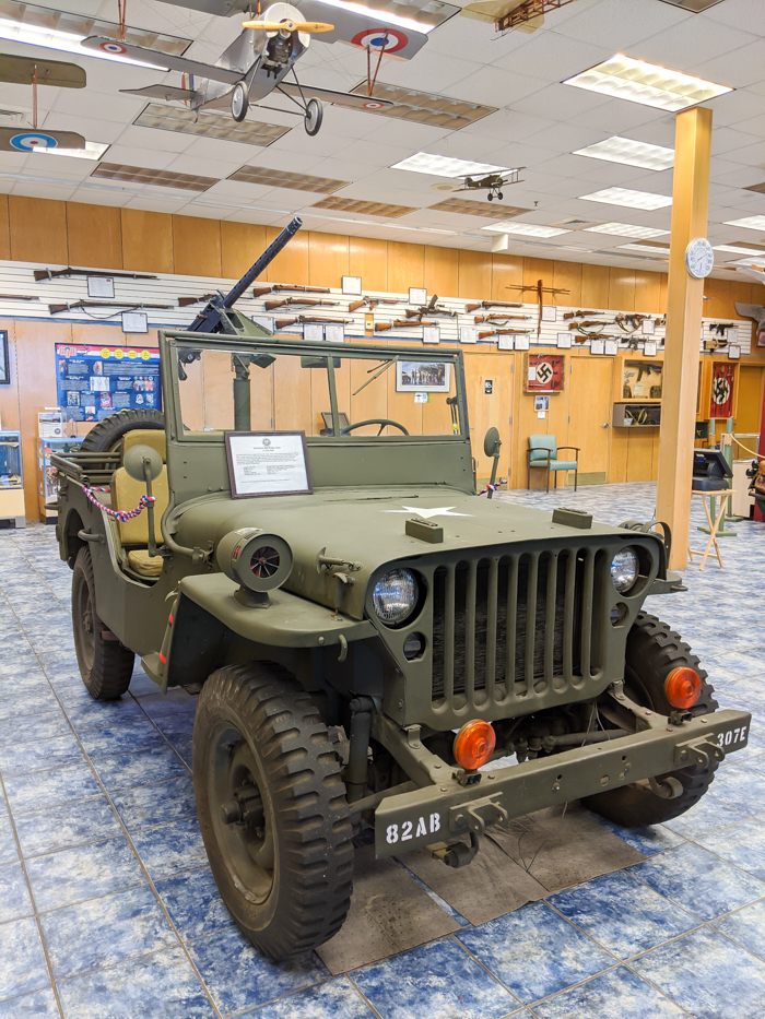 WWII sites in Orlando and thereabouts - World War II sites in and around Central Florida / Museum of Military History in Kissimmee, Florida Jeep