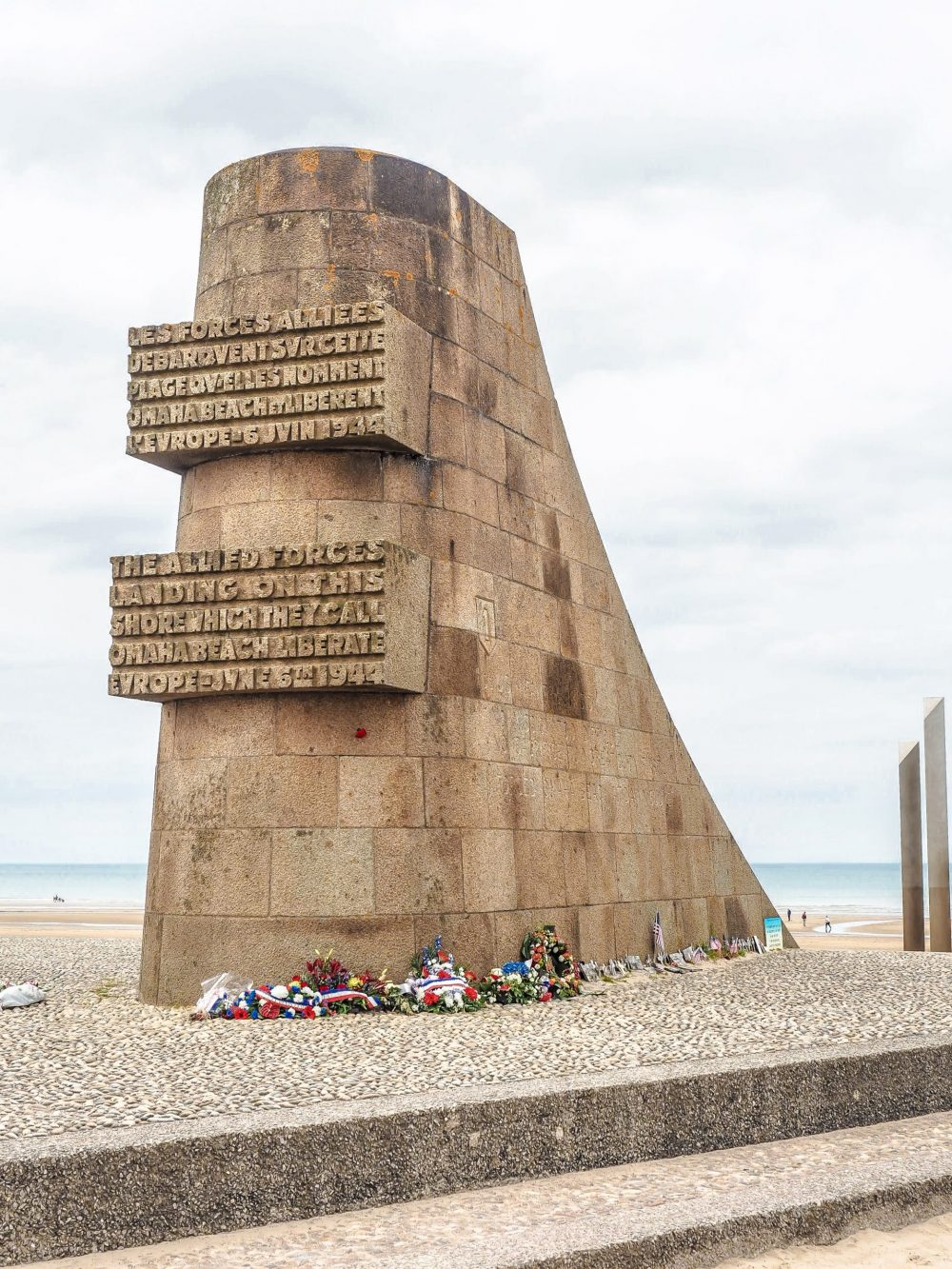What to see at Omaha Beach, Normandy, France: Signal Monument