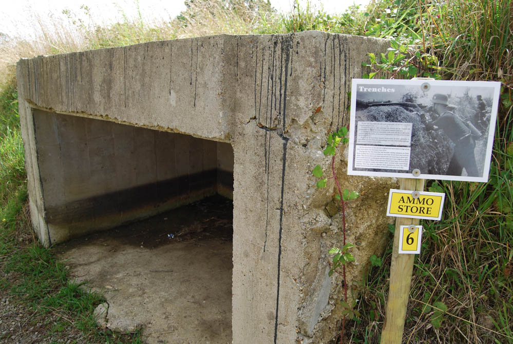 What to see at Omaha Beach, Normandy, France: Maisy battery