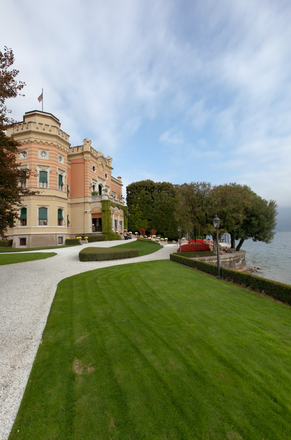 WWII hotels and Airbnbs around the world | Villa Feltrinelli, Mussolini's Castle on Lake Garda in Gargnano, Italy