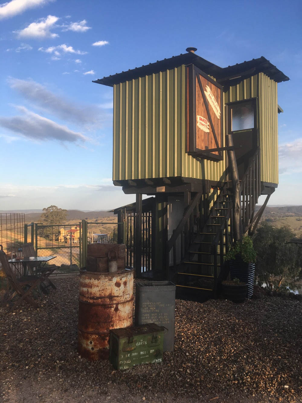 WWII hotels and Airbnbs around the world | Radio Control Tower, New South Wales, Australia