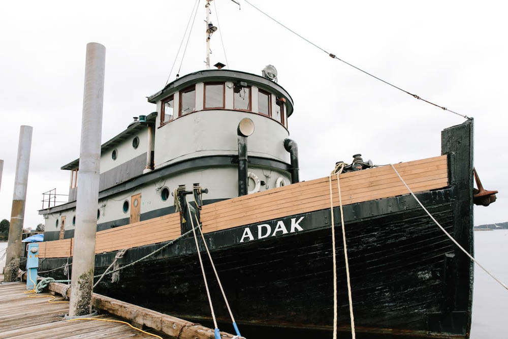 WWII hotels and Airbnbs around the world | WWII tugboat, Sitka, Alaska