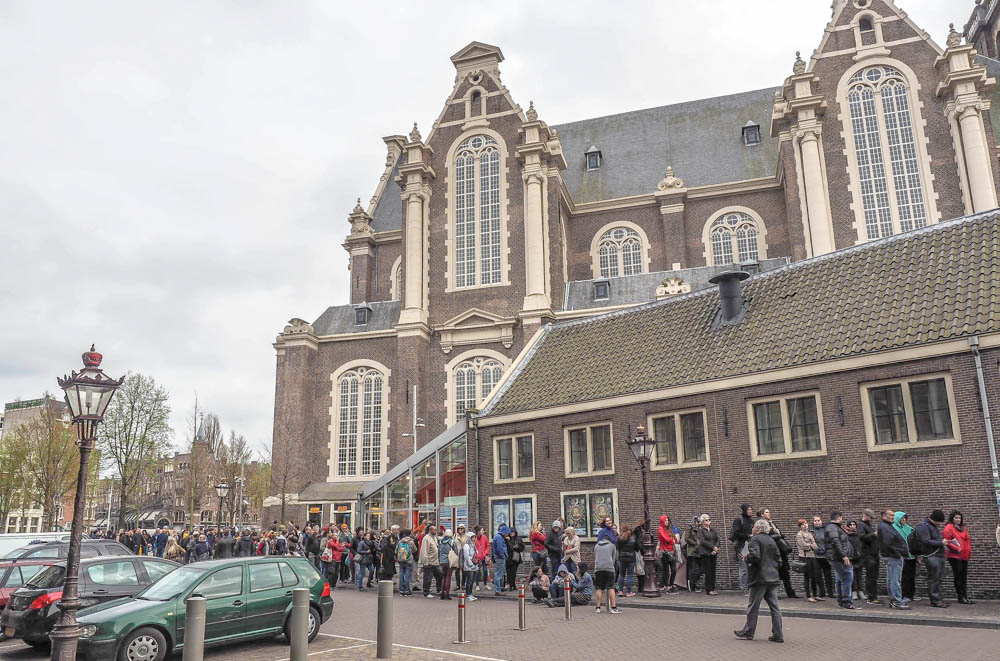 ticket line | Tips for visiting the Anne Frank House museum in Amsterdam