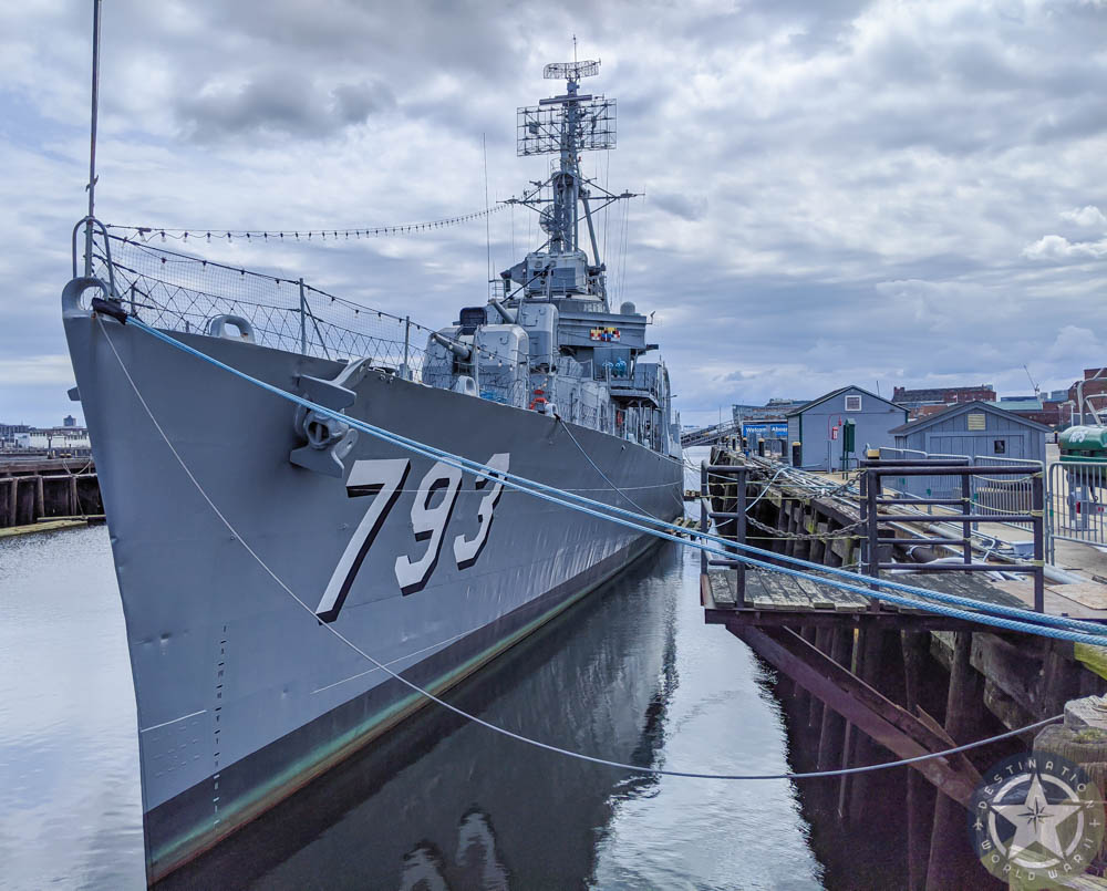 USS Cassin Young destroyer, boston | 8 Reasons U.S. Battleship Museums are the Best Museums | USS Massachusetts, Battleship Cove, Fall River, Massachusetts