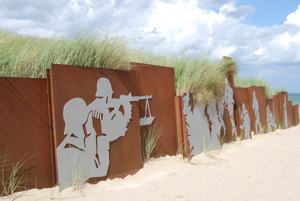 beach entrance   Visiting Juno Beach Normandy, Museums and Memorials to Visit to explore Canada's D-Day history